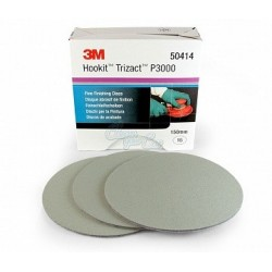3M Trizact 1500 3000, 6000, 8000 Fine Finishing Disc 150mm