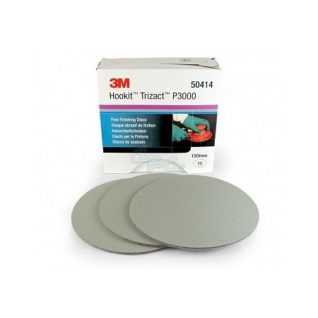3M Trizact 3000, 6000 8000 Fine Finishing Disc 150mm