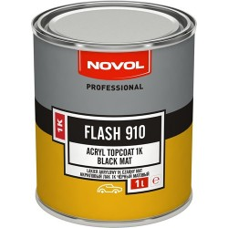 NOVOL FLASH 910 черен мат 1К